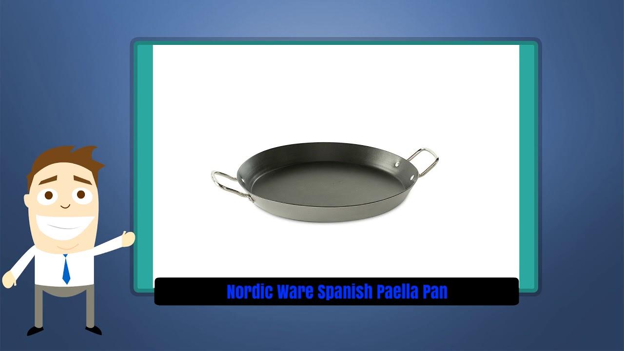 Nordic Ware 40030 Paella Pan 15-Inch