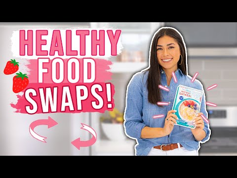 13 Healthy Food Swaps! Healthier Food Options!