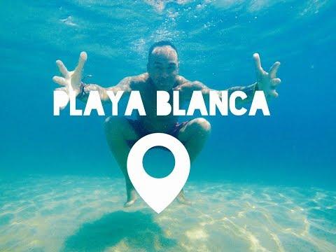 Playa Blanca en Santa Marta, Colombia