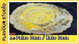 In this Video I have Explained Very quick and Easy recipe To make which is paleo Dosa with only two main Ingredient you will get amazing Crispy Dosa Which ...