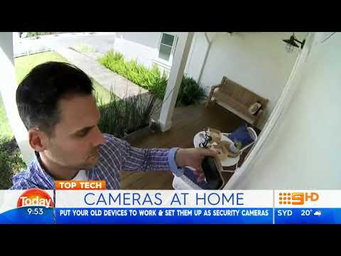 Swann Security Cameras on 'Today'