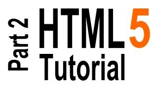 HTML5 Tutorial For Beginners - part 2 of 6 - Text