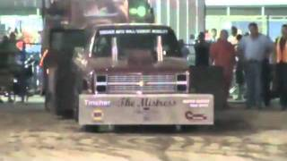 Springfield, NE Light and Heavy Class Mix Street Mod 4x4 Truck Pull