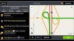How to do a truck permit route using CoPilot Truck 9 Laptop GPS