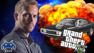 "GTA 5 ""FAST AND FURIOUS 6"" FLIP CAR SCENE AMAZING REMAKE! (RAMP CAR GTA V MOD!)"