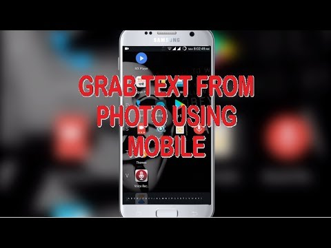 Grab text from image using mobile |Easiest Way|100% working|