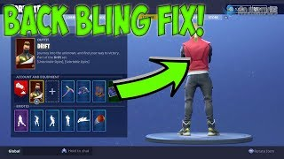 COMO REMOVER BACK BLING FORTNITE TEMPORADA 5 (BACK BLING GLITCH FIX!) Switch, PC, PS4, XBOX