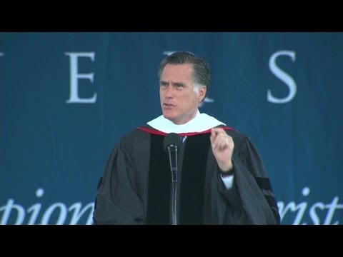 Mitt Romney says marriage is a relationship between one man and one woman