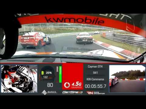 """KW Mobile Team GetSpeed Porsche Cayman GT4 CS Fahrer """"Max"""""""