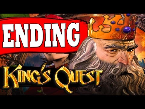 """Kings Quest Chapter 5 ENDING TOXIC DUEL OF WITS ALL PUZZLES SOLVED """"The Good Knight Ending"""""""