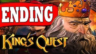 "Kings Quest Chapter 5 ENDING TOXIC DUEL OF WITS ALL PUZZLES SOLVED ""The Good Knight Ending"""