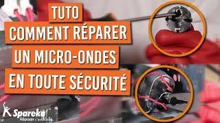 Réparer un micro onde en toute sécurité et sans danger | Comment décharger le condensateur