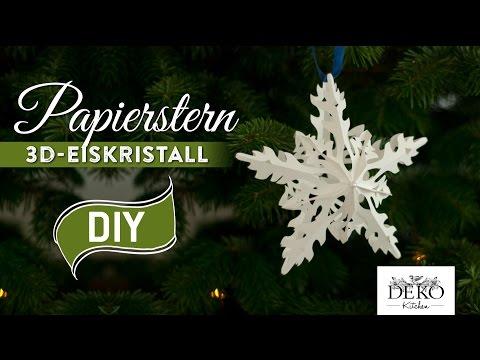 Download Video Sterne Basteln 3d Eiskristall