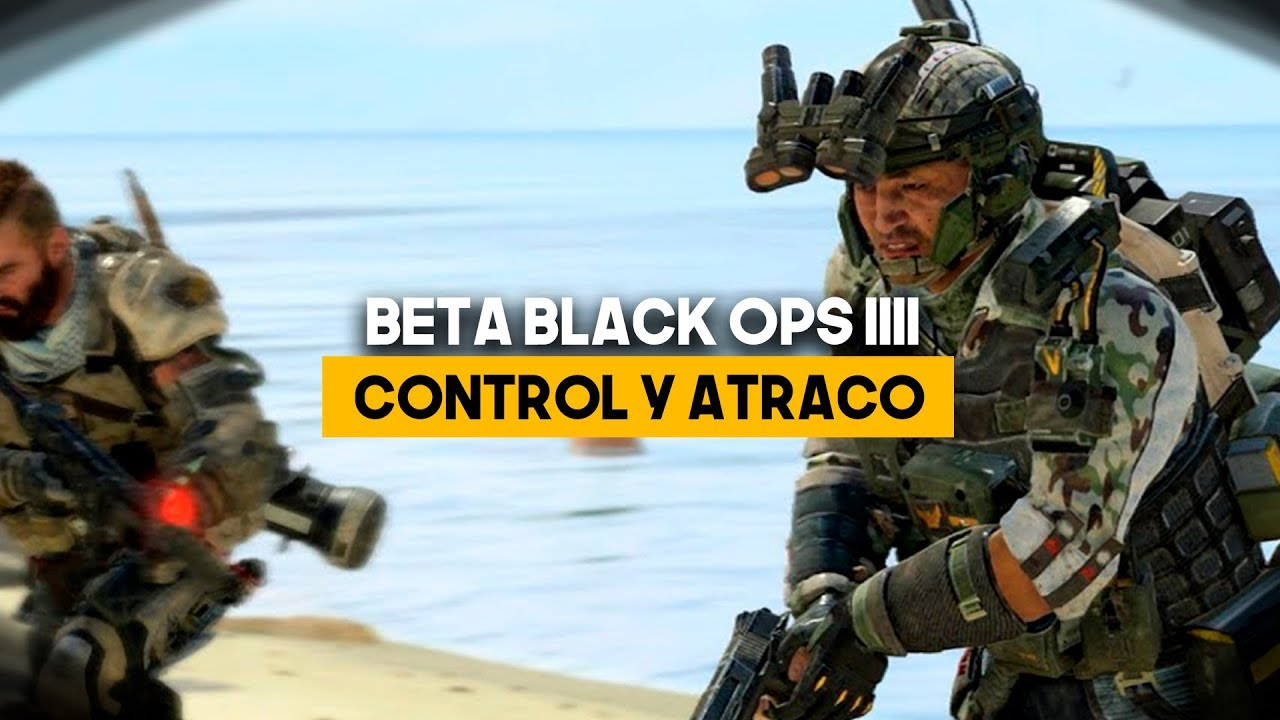 Call of Duty Black Ops IIII Beta - Consejos y estrategias para Control y Atraco