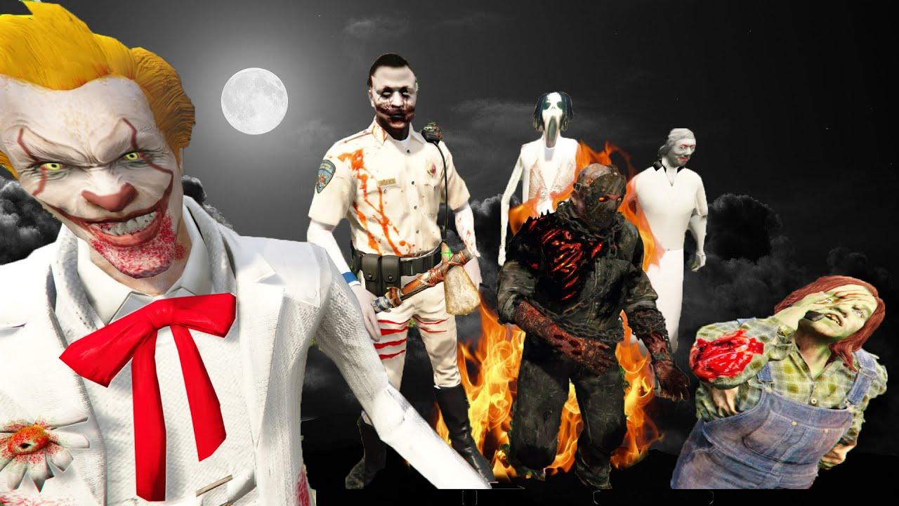GTA 5 – Jeff đối mặt con trai Jason – Jason địa ngục tái xuất (Chú hề khởi chiến 2) | GHTG