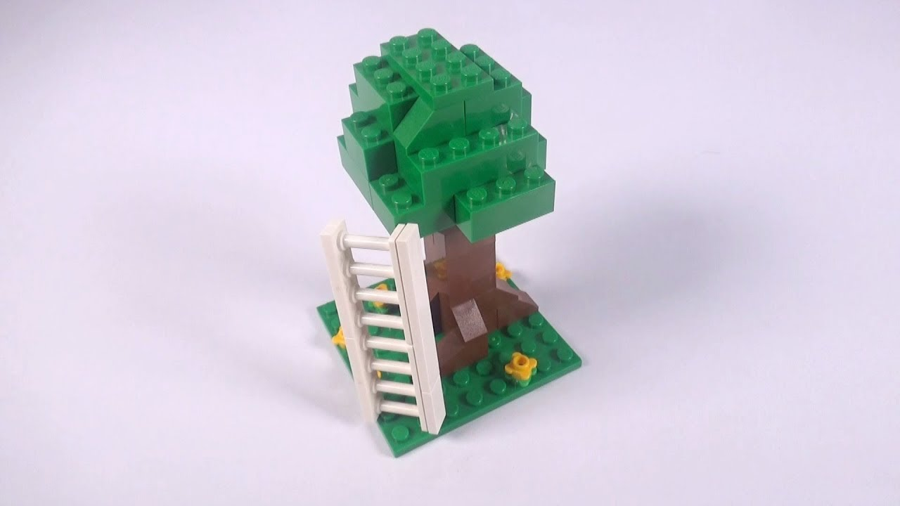 Lego Tree 001 Wladder Building Instructions Lego Classic How To