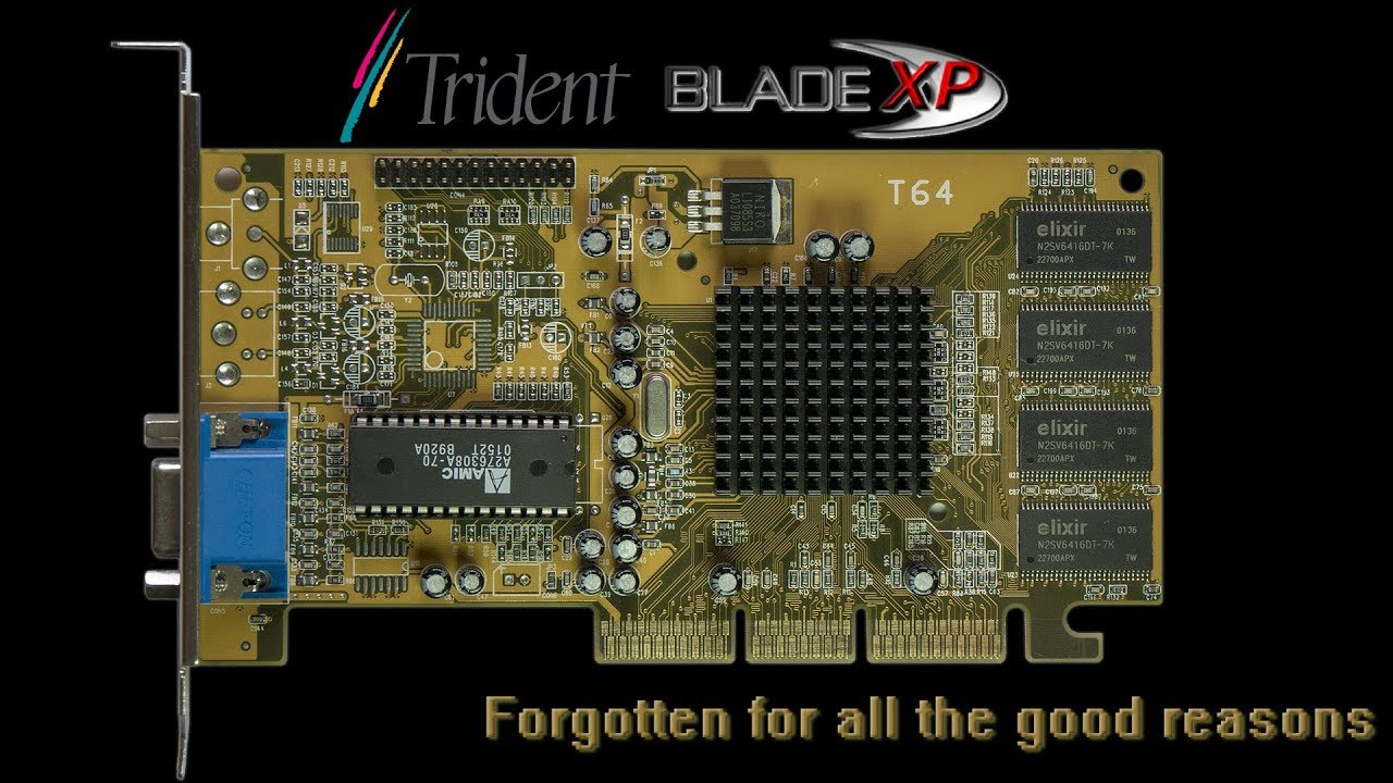 TRIDENT BLADE 3D Graphics New