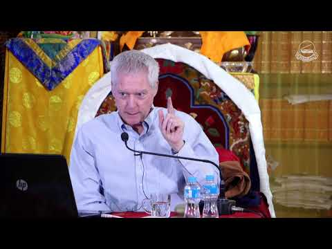 """Prof. B. Alan Wallace talks on """"The Buddhist Science of Mind.""""  #Day 1"""
