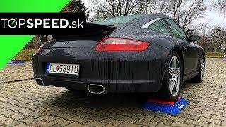 Porsche 911 Targa4 997 4x4 test - TOPSPEED.sk