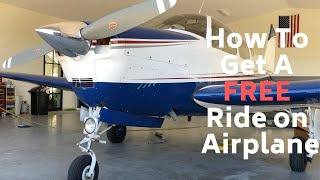 HOW TO GET A FREE RIDE ON AN AIRPLANE!