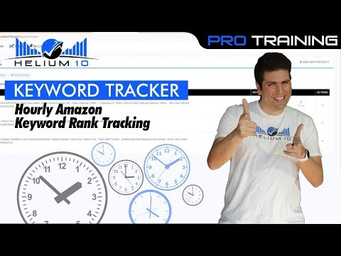Get HOURLY Amazon Keyword Rank Tracking Using Keyword Tracker