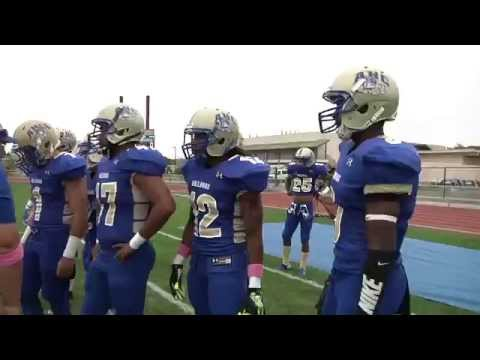 #12 Hancock vs. #7 Cerritos College Football 2015