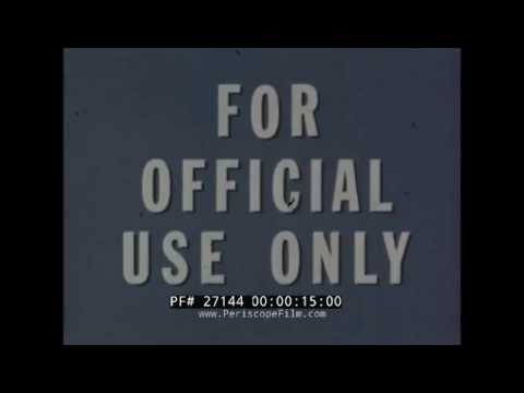 SUBMARINE SOUND AND VIBRATION MEASUREMENT U.S. NAVY FILM  27144