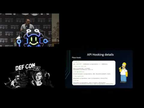 DEF CON 23 - Ionut Popescu - NetRipper: Smart Traffic Sniffing for Penetration Testers
