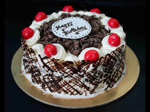 Eggless Black Forest Cake Recipe Without Oven By Sanjeev Kapoor