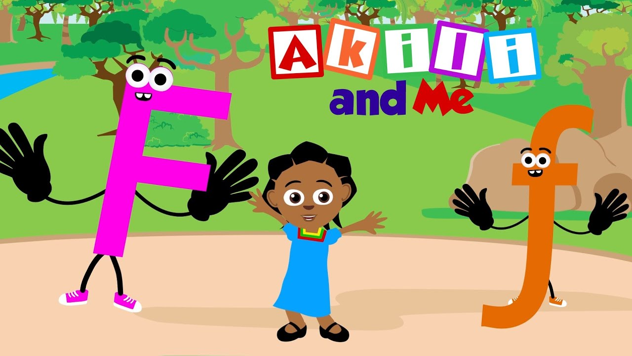 The Letter F   Educational Phonics Song from Africa!