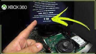 xbox 360 com Luz Vermelha erro (E68) - Maravilha Vamos arrumar em casa• (nº1100)