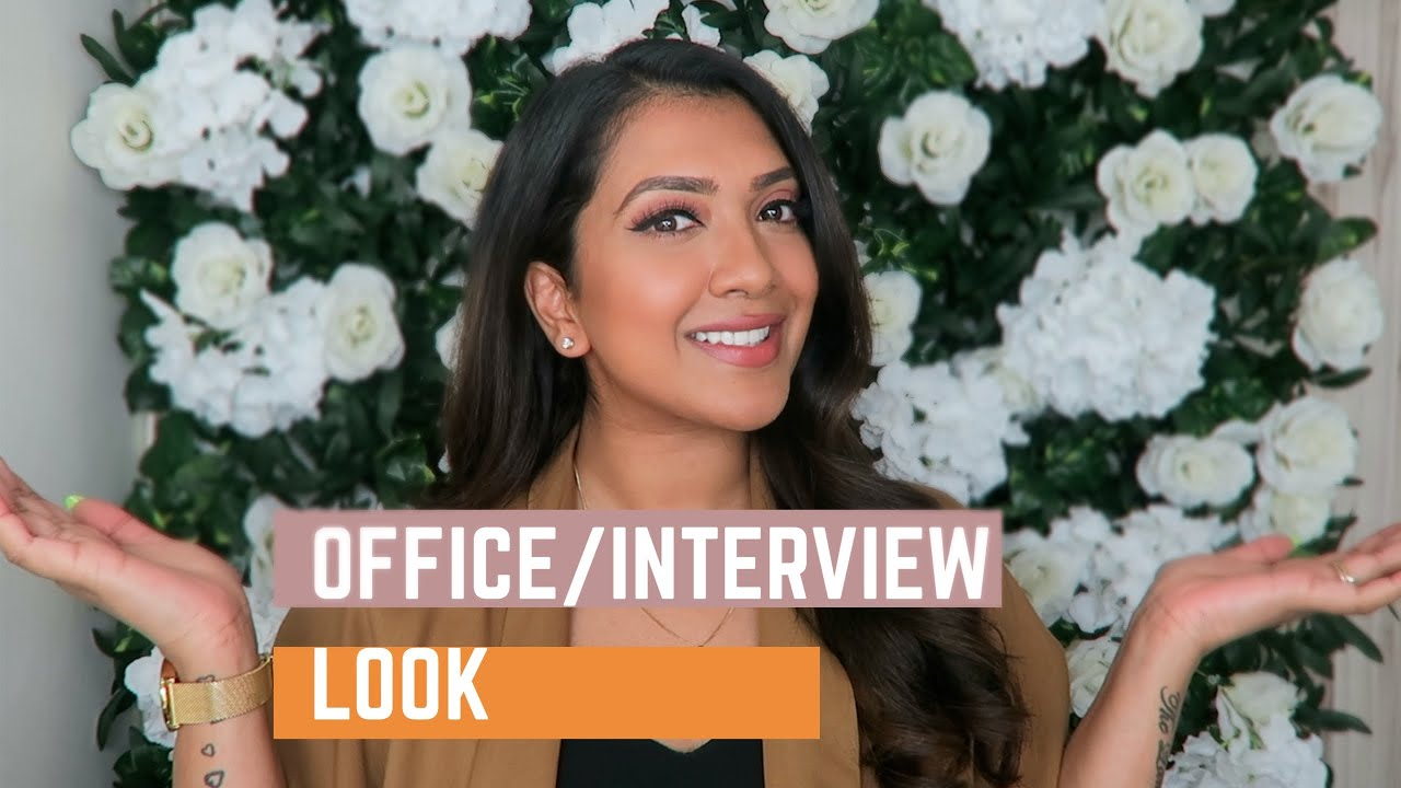 Office/Interview Makeup | Vithya Hair and Makeup
