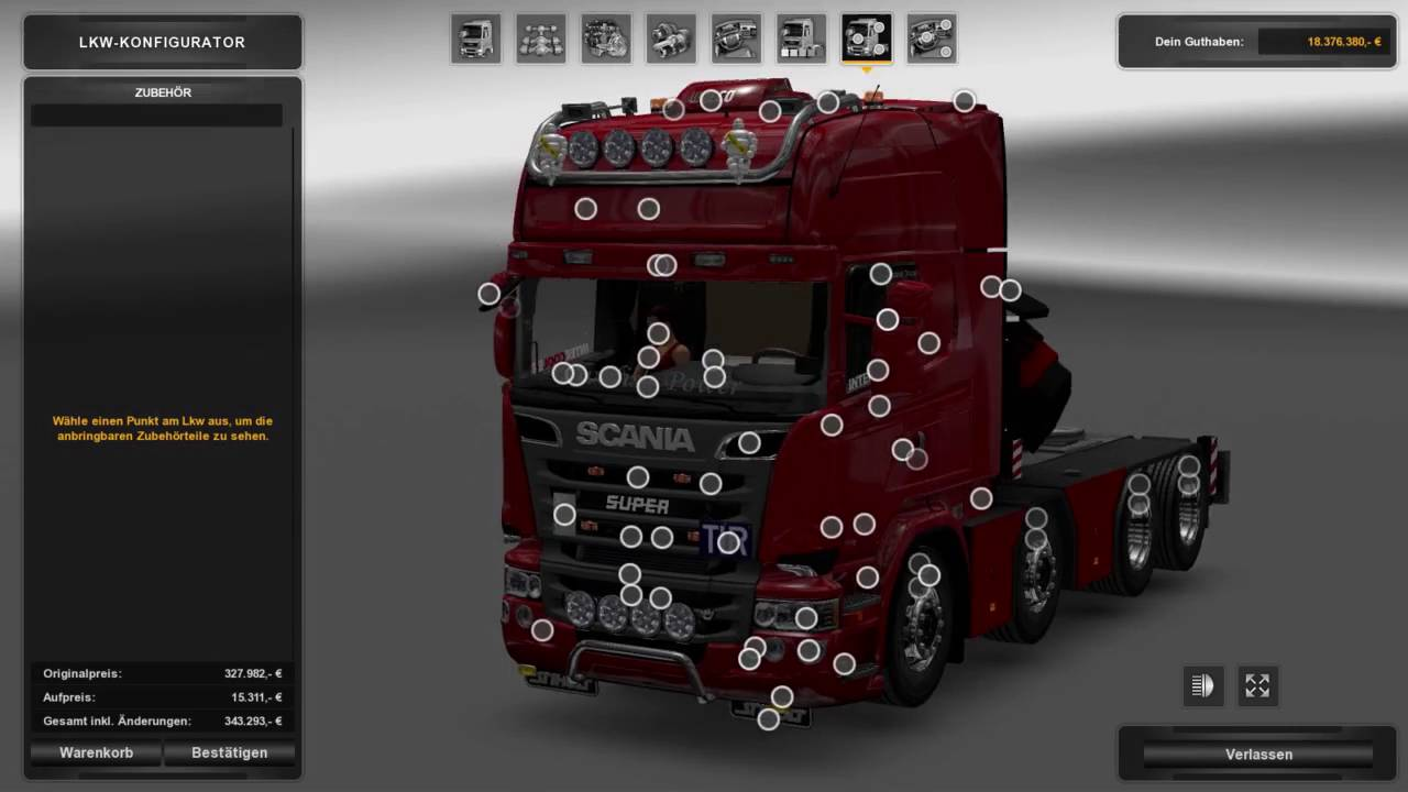 Ets2 1 25 2 6 Scania Mega Mod 6 5 10x4 Chassie Youtube
