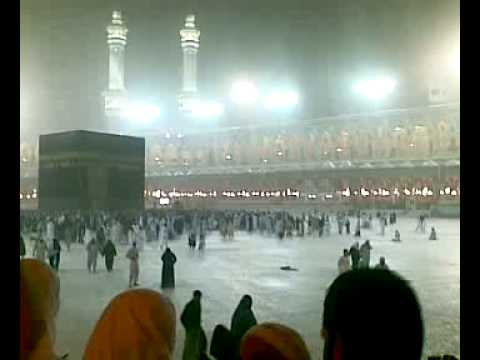 Water Doing Tawaf e Kaba (A feeling)