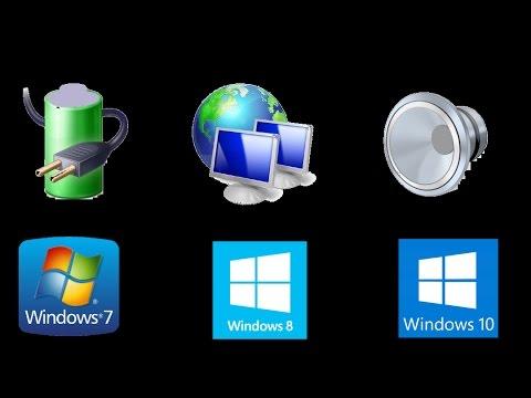 Comment faire r appara tre l 39 icone du son de la batterie ou du r seau qui ont disparu youtube - Windows 7 icone bureau disparu ...