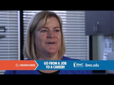 "IBMC College ""Go from a job to a career"" medical training TV commercial  2016"