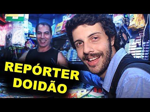 REPÓRTER DOIDÃO   PELAS RUAS DE BOTAFOGO (RJ)