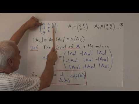 WildLinAlg8: Inverting 3x3 matrices