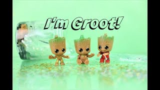 RESTOCK 1,000 HŨ SLIME MỚI! 😱- I'M GROOT!!