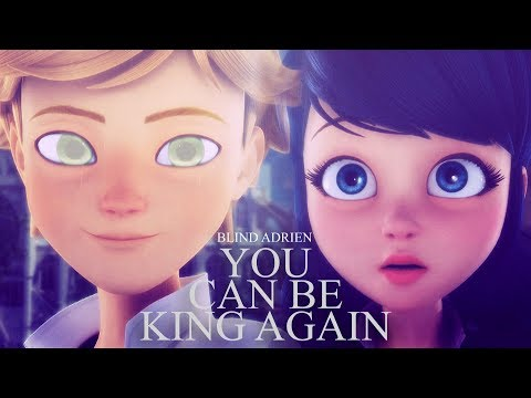 you can be king again. [Blind!Adrien AU]
