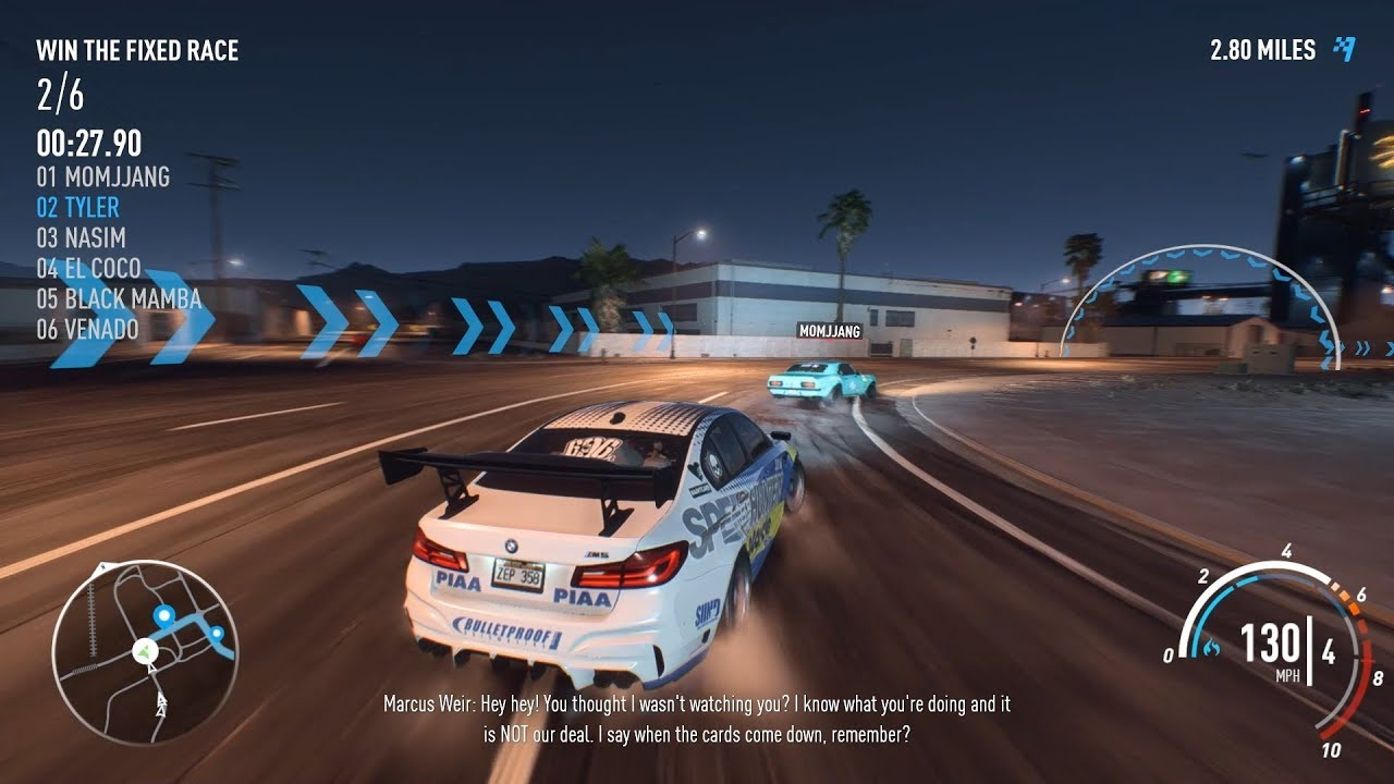 BMW 5 Series how fast is the bmw m5 Need For Speed Payback - 2017 BMW M5 race - YouTube