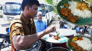 Cheapest Roadside Unlimited Meals | Indian Street food | #Streetfood / B25