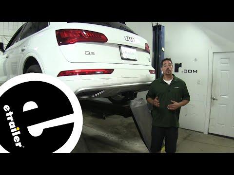 etrailer   Curt Trailer Hitch Receiver Installation - 2019 Audi Q5
