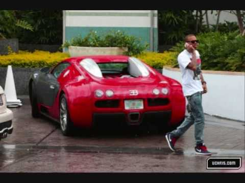 Chris Brown's RARE $1.5 Million Bugatti Veyron Pictures & Some Personal Pictures