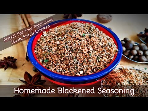 How To Make Blackened Seasoning | Fab Flavours For Your Blackened Fish, Steak & Chicken | 129