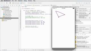 iOS Development with Swift Tutorial - 24 - Drawing Basic Shapes