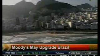 Moody's May Upgrade Brazil - Bloomberg