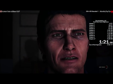 The Evil Within 2 Speedrun Nightmare New Game 3:09:01 World Record