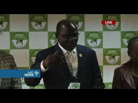 IEBC briefs the media following Kenya Supreme Court ruling