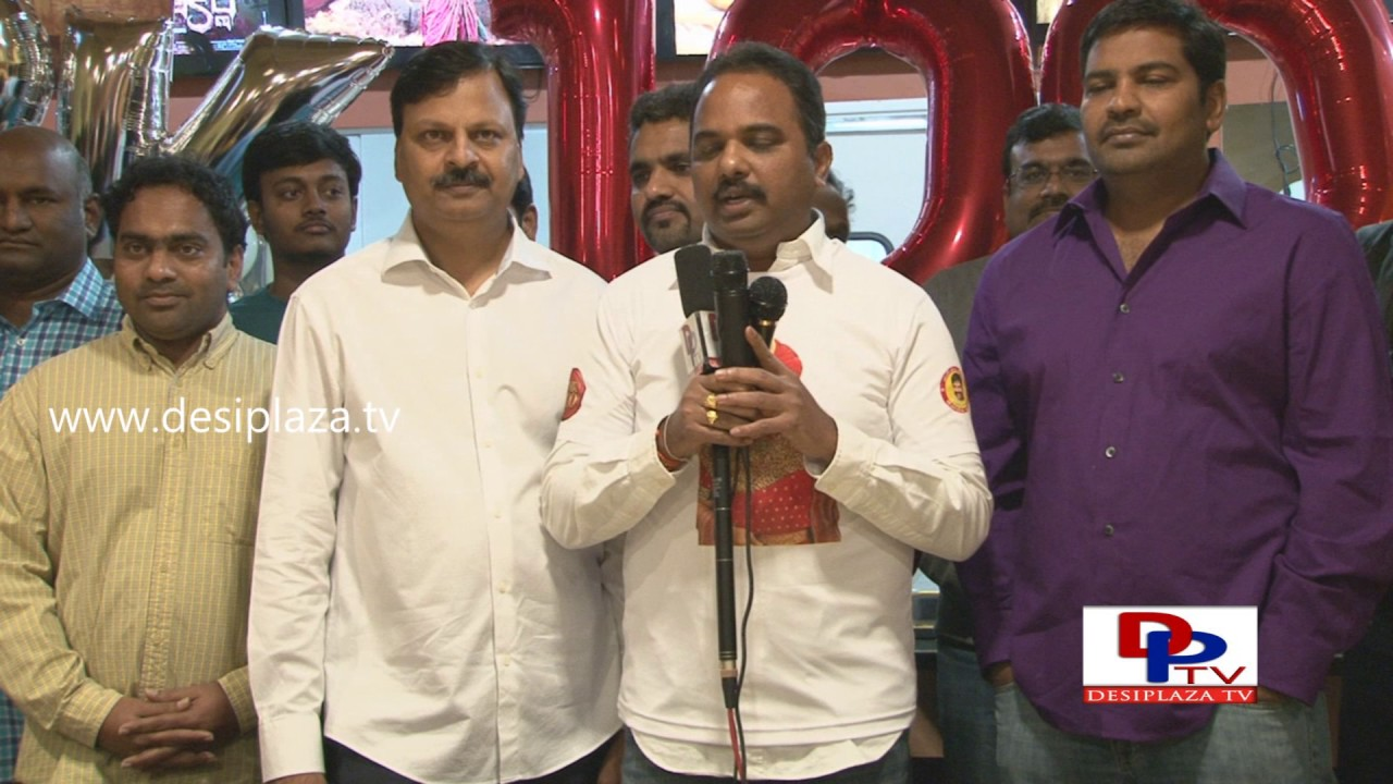 Balakrishna Fan Speaking at Gautamiputra Satakarni Success Meet  in Dallas, Texas